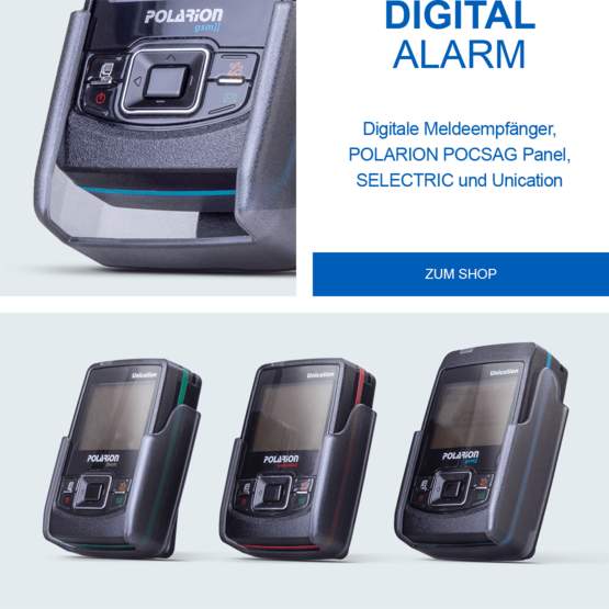 SELECTRIC Digitalalarm POLARION POCSAG Pager