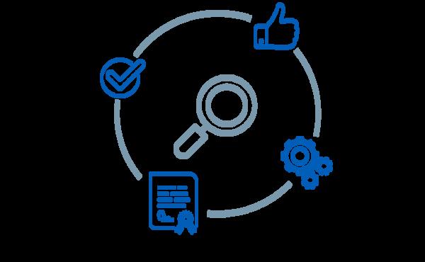 Grafik Symbolbild SELECTRIC Qualitätsicherung