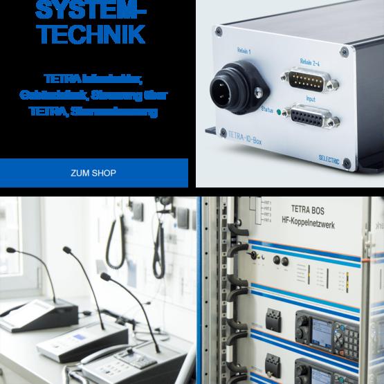 SELECTRIC Systemtechnik I/O Box, Systemschrank, Bedieneinrichtungen