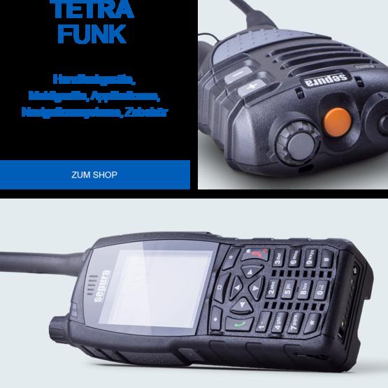 SELECTRIC TETRA Funk OptiVo, Handfunkgerät
