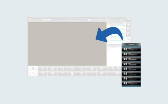 Bildschirm Bedienung Konfigurator