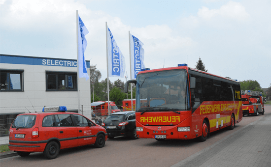 ELW im Bus SELECTRIC Staßfurt