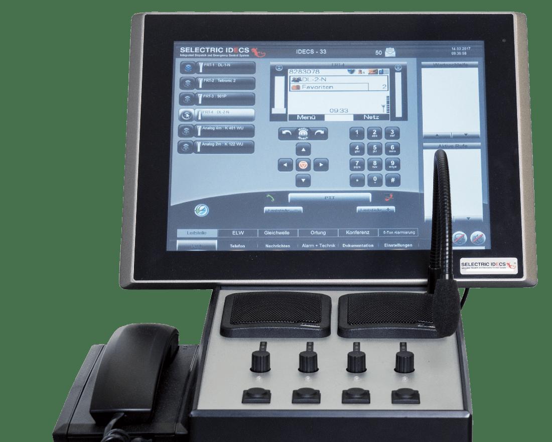 SELECTRIC IDECS Monitor mit Bedieneinrichtung