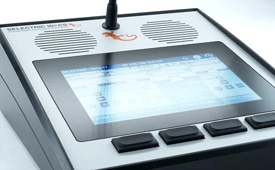 IDECS Bedienung Orca17 Bildschirm