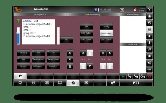 Screenshot vom idecs modul