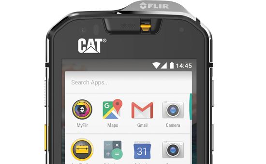 CAT S60 Smartphone Detail