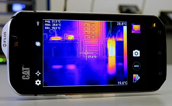 CAT S60 Smartphone Wärmebild