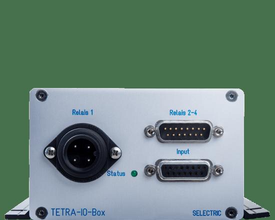 TETRA I/O Box Detail Front