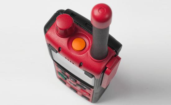 Sepura STP8x ATEX Handfunkgerät von oben Detailansicht
