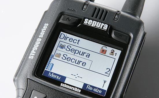 Sepura STP9000 Detailansicht