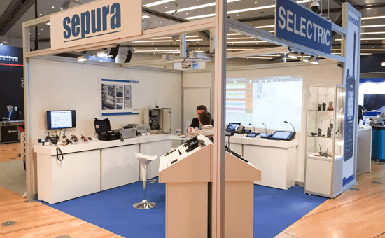 SELECTRIC Stand auf der CCExpo 2017