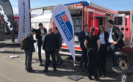SELECTRIC ELW1 auf der RETTmobil 2017