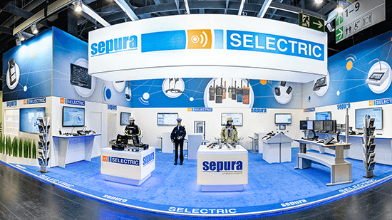 SELECTRIC Stand auf der PMRExpo