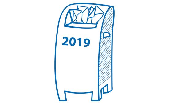 Grafik Briefkasten 2019