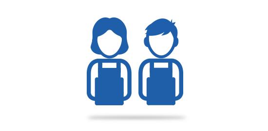 Grafik Frau und Mann im Blaumann