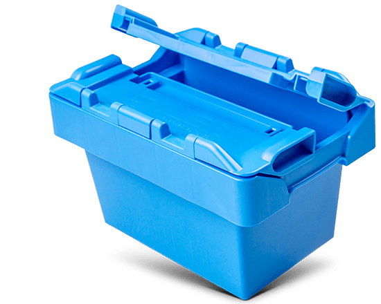 Blaue SELECTRIC Shuttlebox
