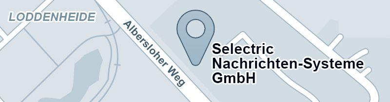 Straßenkarte SELECTRIC